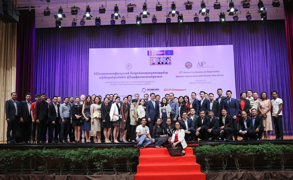 350 leaders come together for 2nd Annual Conference for Road Safety in Cambodia