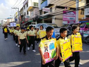 Street Wise launches road safety parade and educational activities at schools in Thailand