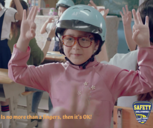 Kick-starting the school year in Vietnam with a helmet safety public service announcement