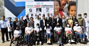 Advocating on behalf of road traffic victims for World Day of Remembrance