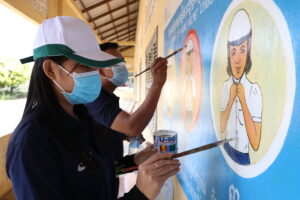 Public cultural art for social change in Cambodia