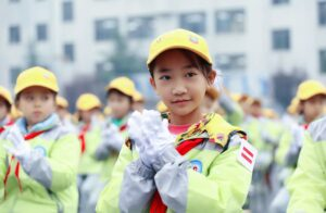 Nearly half a million people served through Chevron's Walk Wise road safety program in China