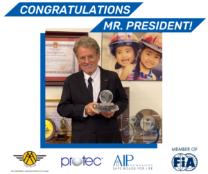 Our Founder and President, Mr. Greig Craft elected as President, FIA Asia-Pacific Region II President